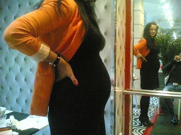Картинки беременных девушек брюнеток 49