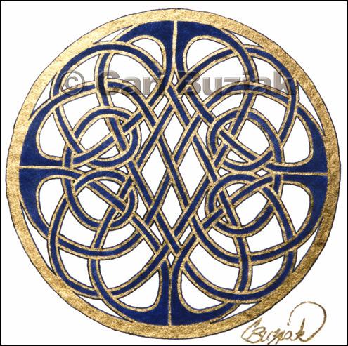 кельтский узел из бисера схема - Сделай сам!