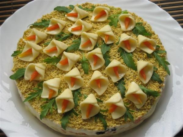 Рецепты салаты на день рождения