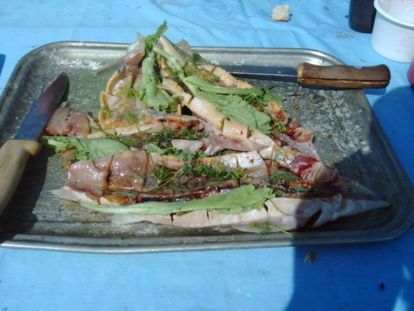 рецепты приготовления стерляди в фольге