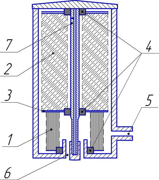 схему масляного фильтра,