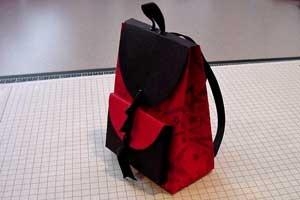 Коробочка рюкзачок