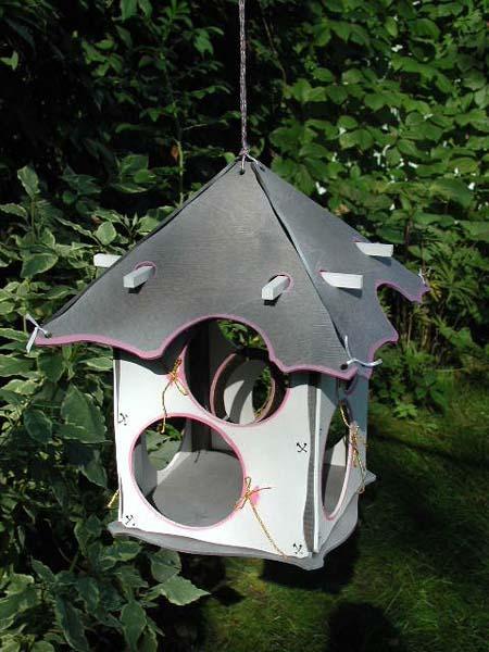 Поделка кормушек для птиц