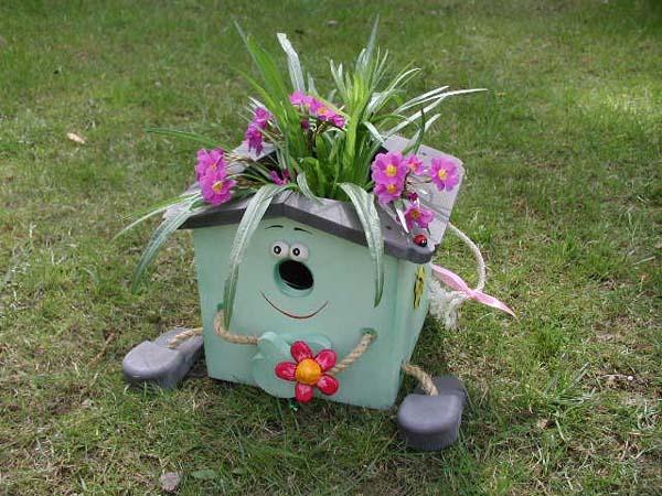 Украшения для сада своими руками из шин фото - Всё о фигуре здесь