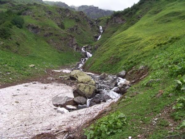 Водопад правой Ауадхары