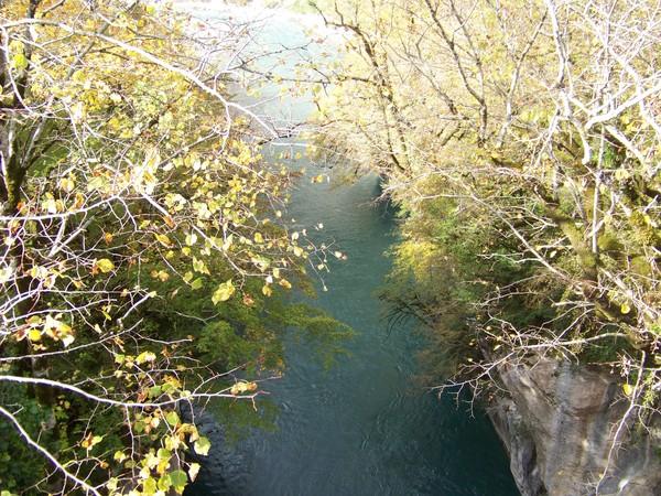 Вид с моста через Кодор