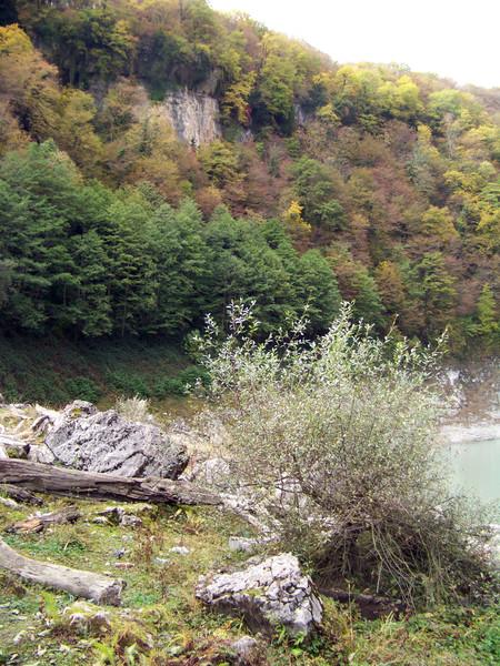 Над озером Амткел
