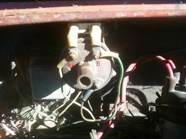 Катушка зажигания б115в схема подключения фото 887