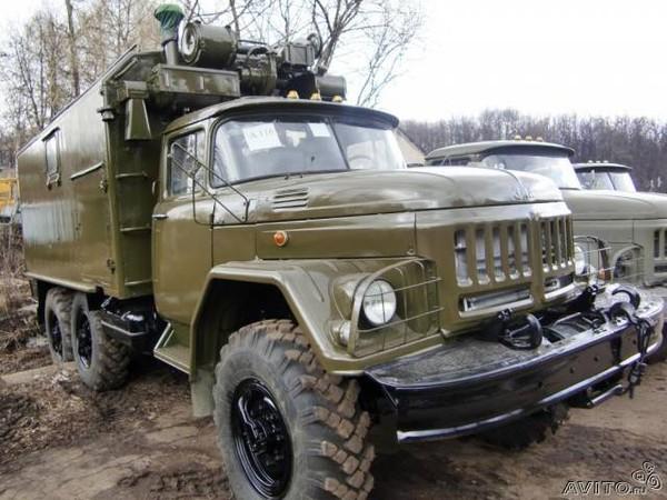 заменой грузовика ЗИЛ-157.
