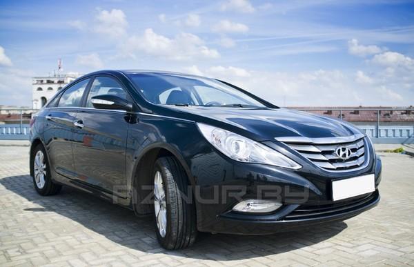 Хундай Соната - прокат автомобиля в Минске
