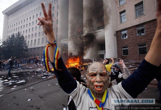 Лицо уличной демократии
