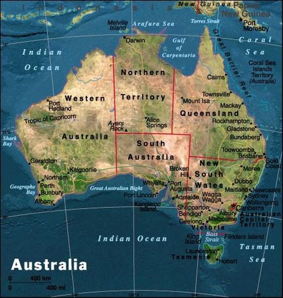 Австралия обзор