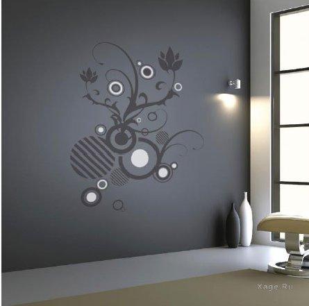 Хочу сделать узор на стене подскажите