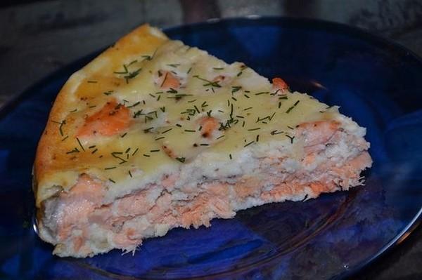 Фото как приготовить рыбный пирог