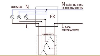 агурцов.  Получить ссылку.  2. Пожаловаться. схема подключения трех клавишного выключателя.  Оракул(60332) .