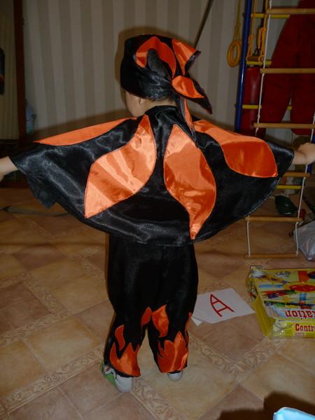 Как сшить костюм огонька на мальчика с фото