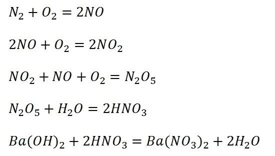 Ответы@Mail.Ru: Сделайте цепочку превращений N - N2O5 ...