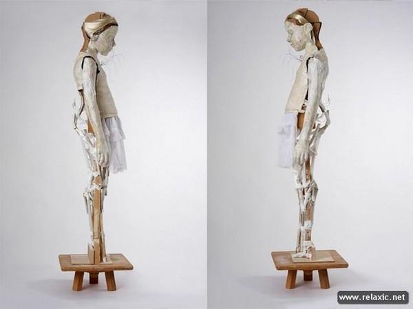Как сделать каркас для скульптуры 366