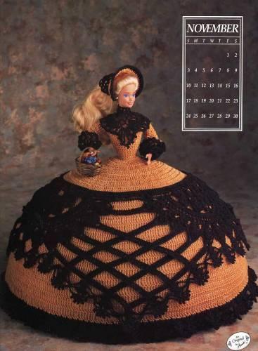 Вязание крючком, Вязаные куклы, схемы вязания для собак и вязаная...