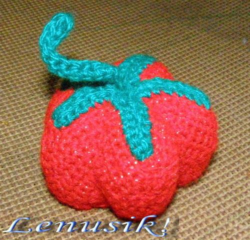 Схема фрукты вязаного крючком