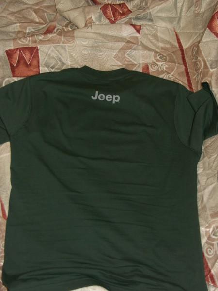 Футболки Jeep с символикой I-2006