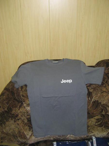 Футболки Jeep с символикой I-2012