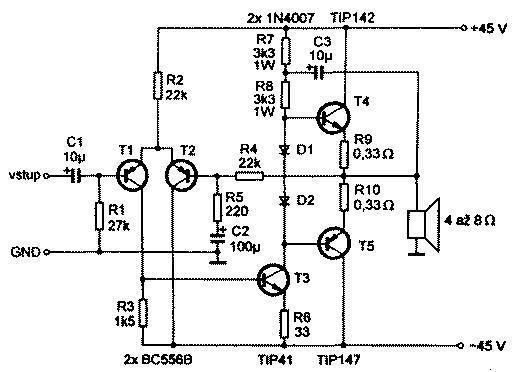 Аудиотехника. Схема простого