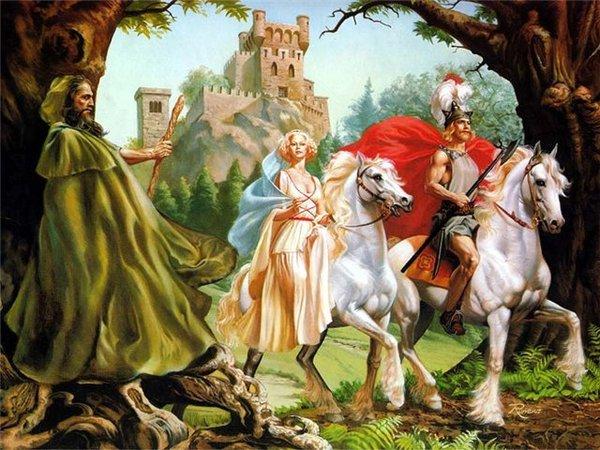 А коль король тот не прискачет, Ты лучше принца подожди.  Сомненья,Лена,твои значат- Один из них уже в пути.