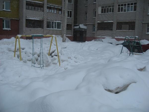 Воспоминания о будущем снегопаде.