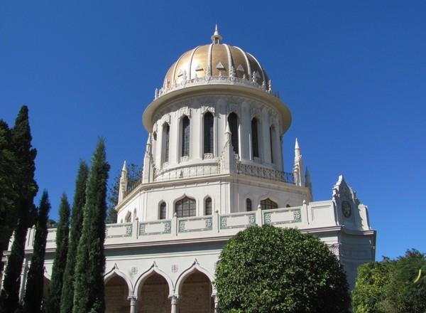 Бахайский храм в Хайфе