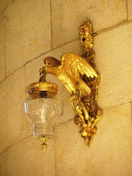 Хайфа. Светильник в храме