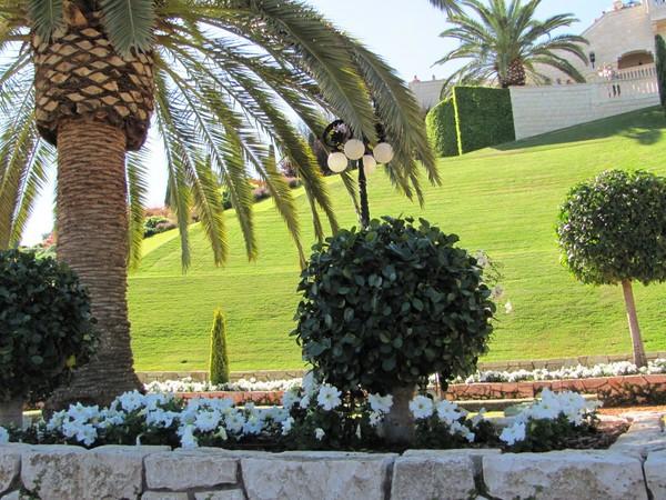 Хайфа. Бахайский сад