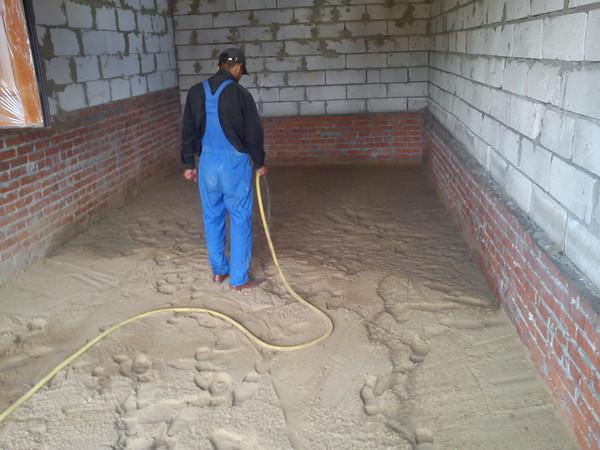 Как сделать пол из песка 982
