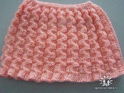 юбка спицами на knitka.ru, вязание спицами.  Схема юбка, более.