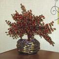 Осеннее дерево из бисера.