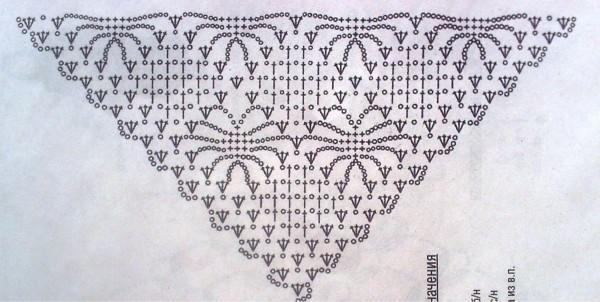 Схема для шали