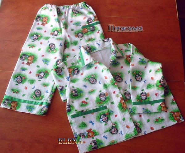 Все для детей сшить пижаму