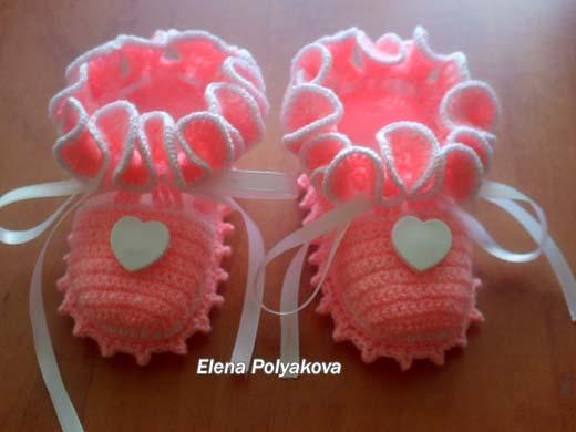 Сердечные туфельки