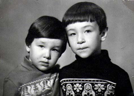 День отъезда в Николаевск-на-Амуре. Алексей и Егор.