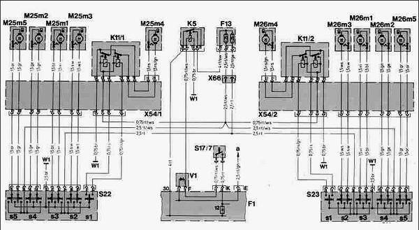 F1 Блок центральной электрики