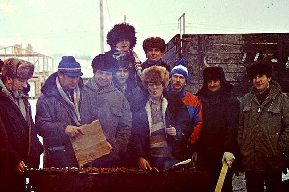 Билибино, БиАЭС, 5 вахта, 1987