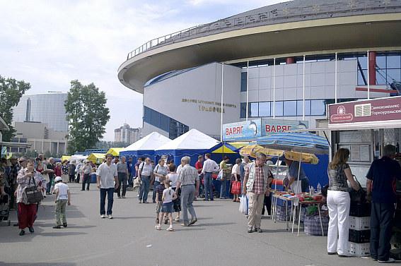 Екатеринбург, ДИВС, ярмарка