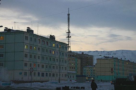 Норильск, гора Шмита
