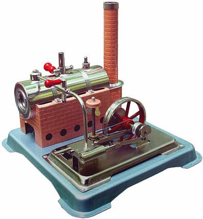 Jensen Steam Engine Model 65
