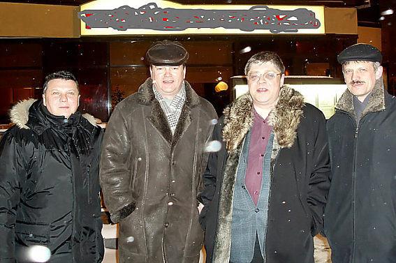 Евгений Батуев, Николай Виноградов, Андрей Коваленко, Юрий Грехов