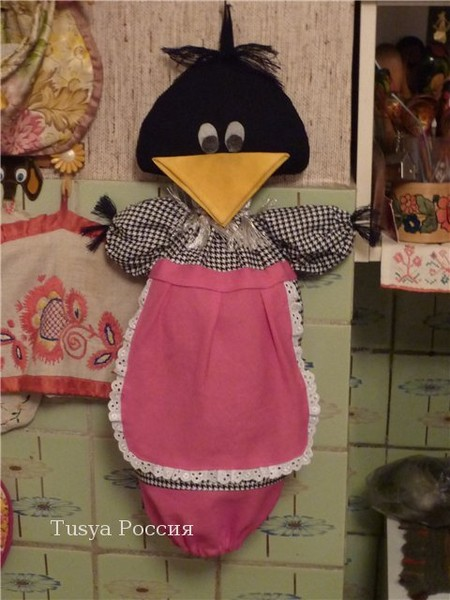 Сорока-ворона, или просто пакетница (хочу себе сшить) - Babyblog.ru