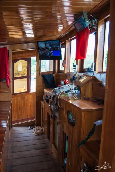 Koh Rong Samloem: Party Boat, капитанская рубка