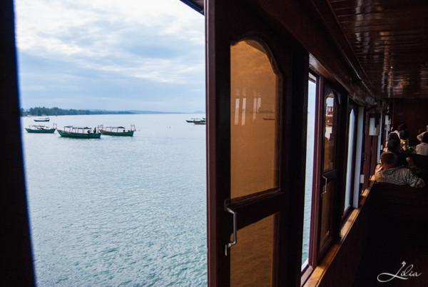 Koh Rong Samloem: Party Boat, нижняя палуба