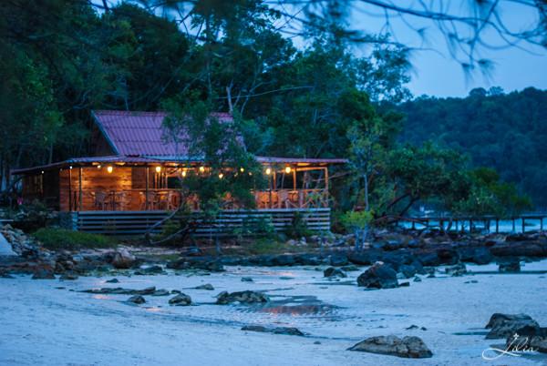 Koh Rong Samloem: Saracen Bay Resort