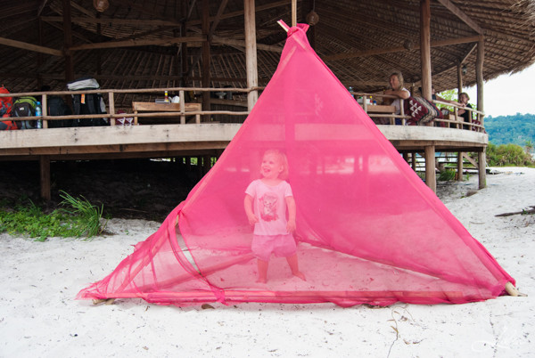 Koh Rong Samloem: The Beach Resort, ресторан